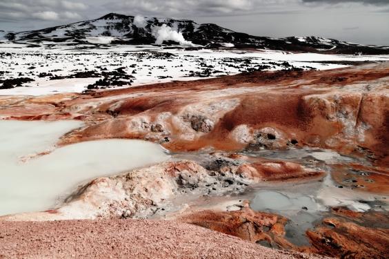 Krafla Geothermal Area, Iceland