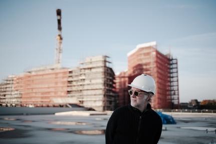 Michel Huisman, ontwerper Maankwartier Heerlen